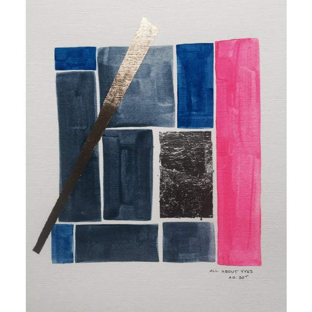 Image of All About Yves Original Abstract Painting