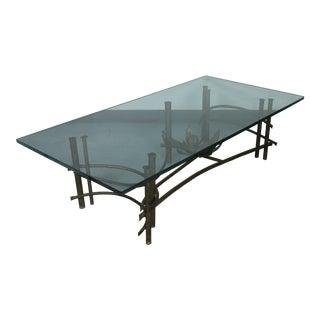 Brutalist Lotus Coffee Table