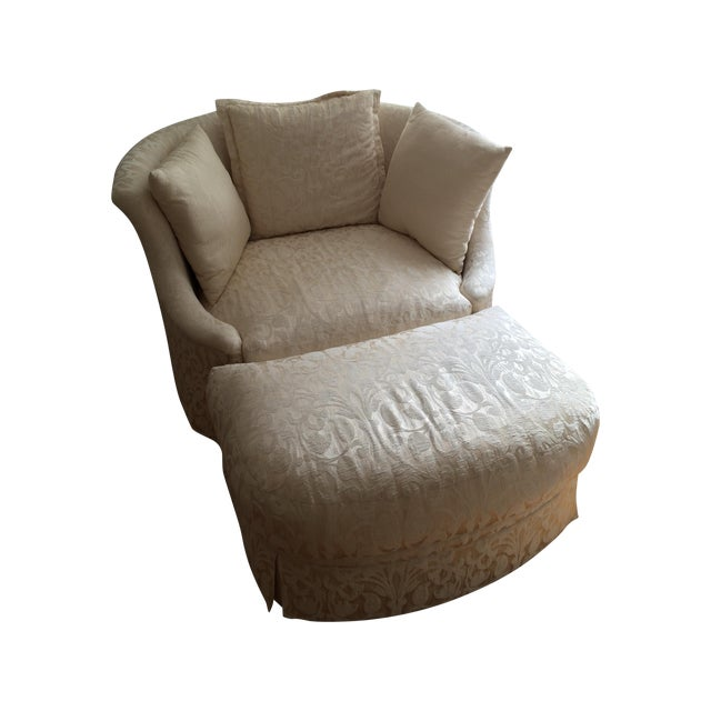 Shelter Chair & Ottoman - Image 1 of 4