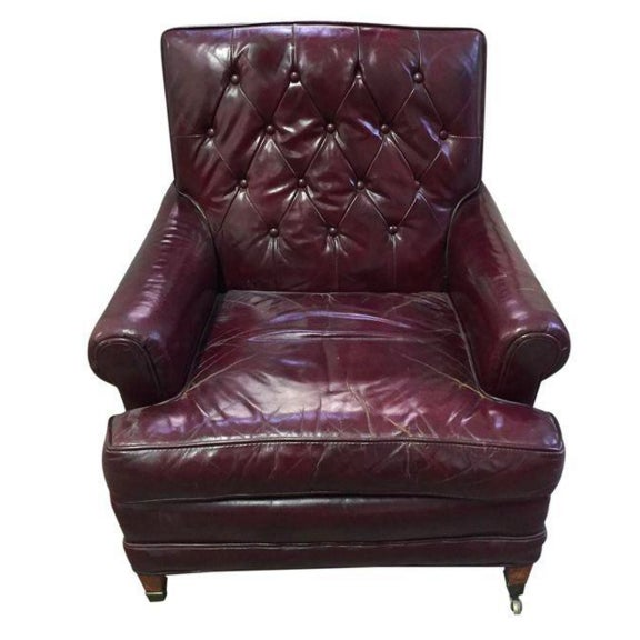 Mid Century Sloane Leather Club Chair - Image 2 of 7