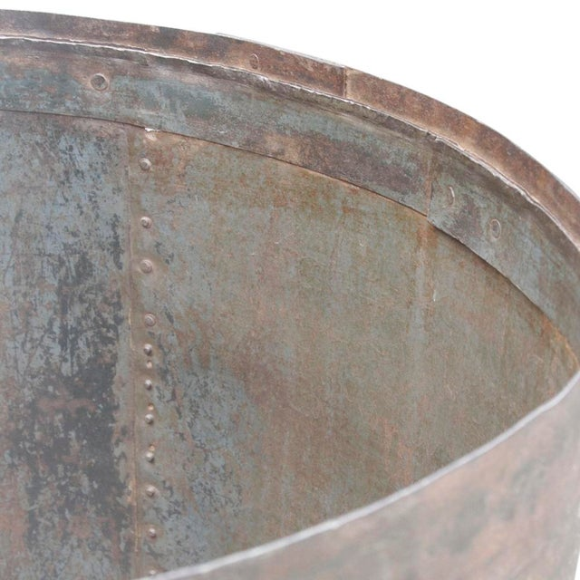Image of Handcrafted Iron Barrel