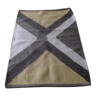Vintage Wool Dhurrie Rug - 2′1″ × 3′