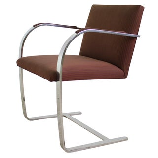 Mies Van Der Rohe Brno Flat Bar Chair - 4 Avail.