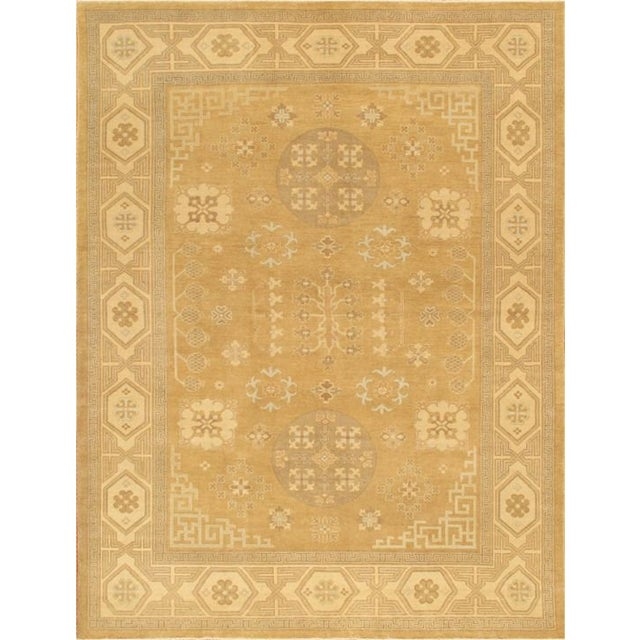 Khotan Collection Tribal Traditional Rug - 6'x9' - Image 1 of 1