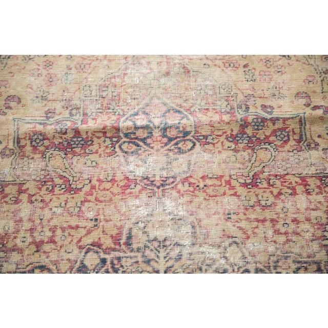"Antique Kerman Rug - 4'1"" X 5'10"" - Image 8 of 8"