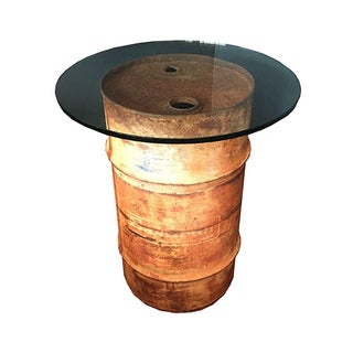 Oil Drum Table