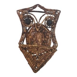 Mid-Century Owl Mail Holder