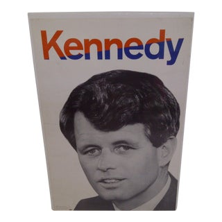 1968 Kennedy for President Campaign Poster