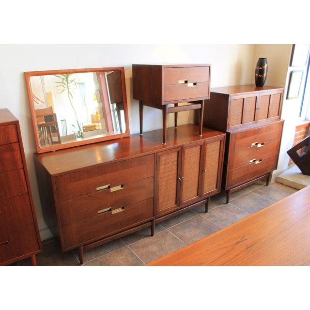 American of Martinsville Walnut Dresser Sideboard - Image 8 of 8