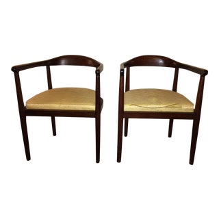 Mid Century Rosewood Side Chairs - a Pair