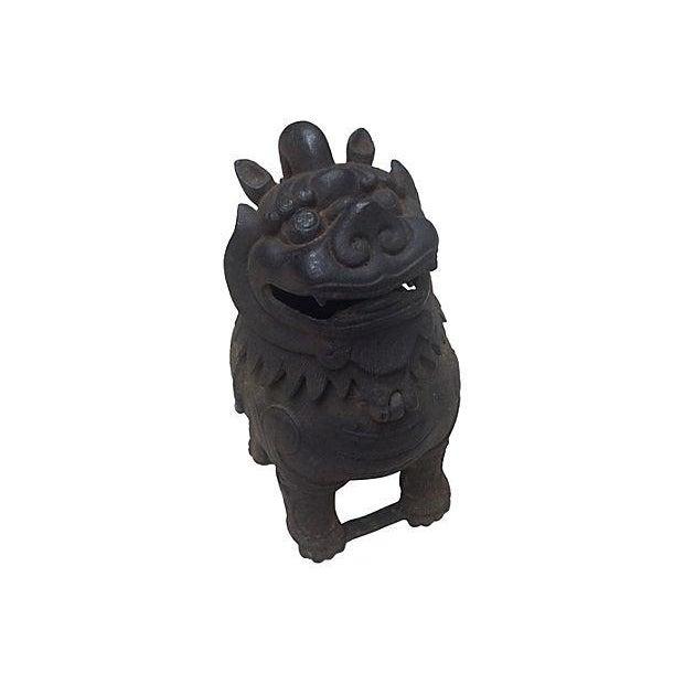 Gargoyle Lion Incense Burner - Image 1 of 4