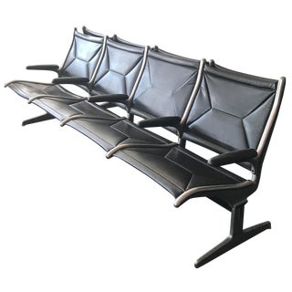Vintage Airport Lounge 4-Seat-Chair