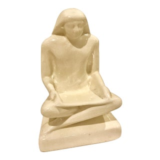 Vintage Art Deco Porcelain Egyptian Figure