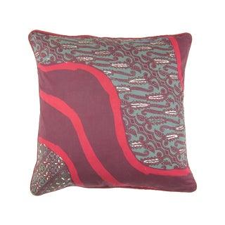 Raspberry Pink Cap Batik Ungu Pillow