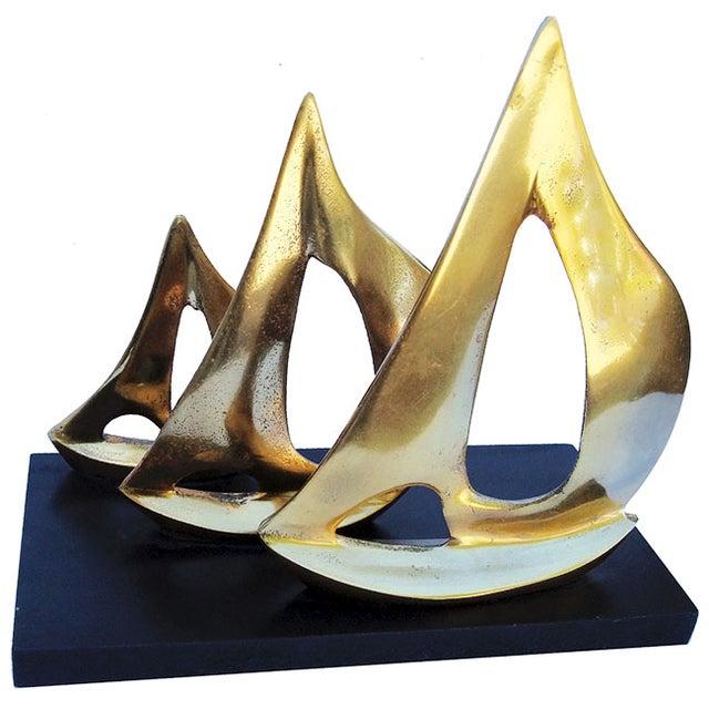 Image of Sailboat Sculpture