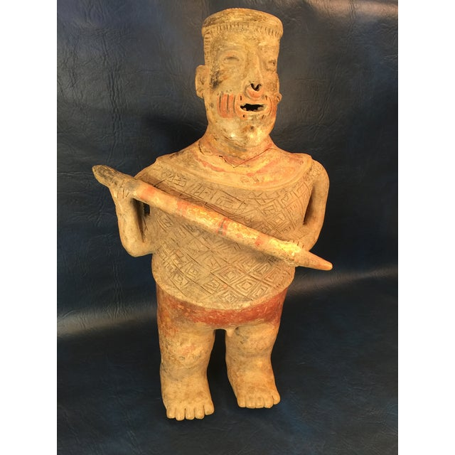 Pre-Columbian Colima Standing Pottery Figure - Image 2 of 11