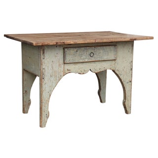 Early 19th Century Painted Swedish Table