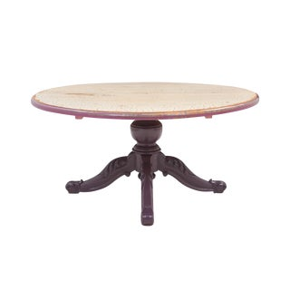 Round French Provencal Pedestal Table