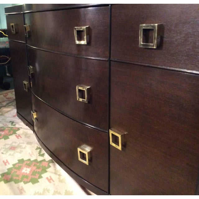 Mid-Century Bow Fronted Chest of Drawers - Image 3 of 10