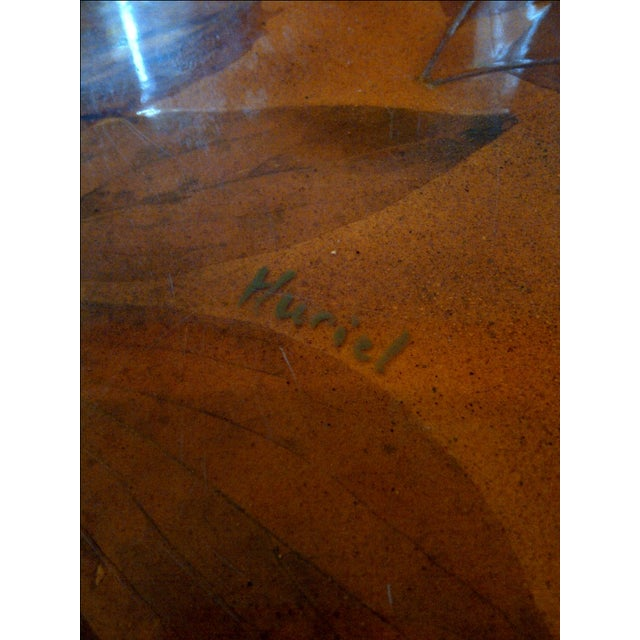 Lacquered Dining Table by Muriel De Kersaintg - Image 7 of 7