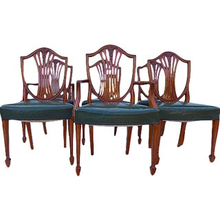 Antique Dining Chairs - Set of 6