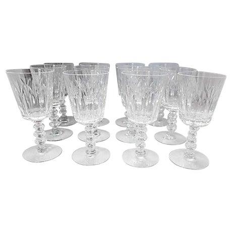 fine crystal sherry glasses set of 12 chairish