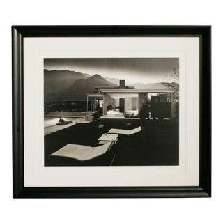 """Julius Shulman """"1947 Kaufman House Palms Springs"""" Print, Signed"""