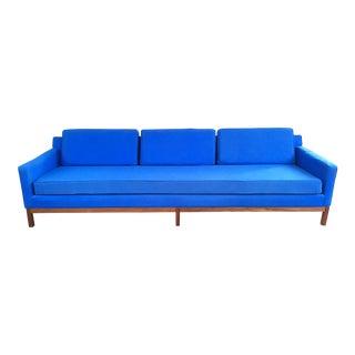 Milo Baughman for Thayer Coggin Blue Sofa