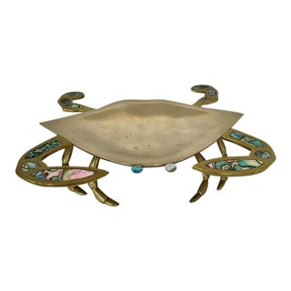 Metal & Abalone Crab Catchall