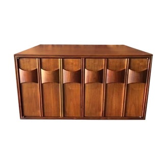 Mid Century Walnut Side Table by Kent Coffey