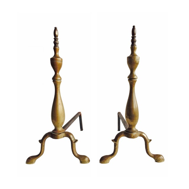 Image of Brass Andirons