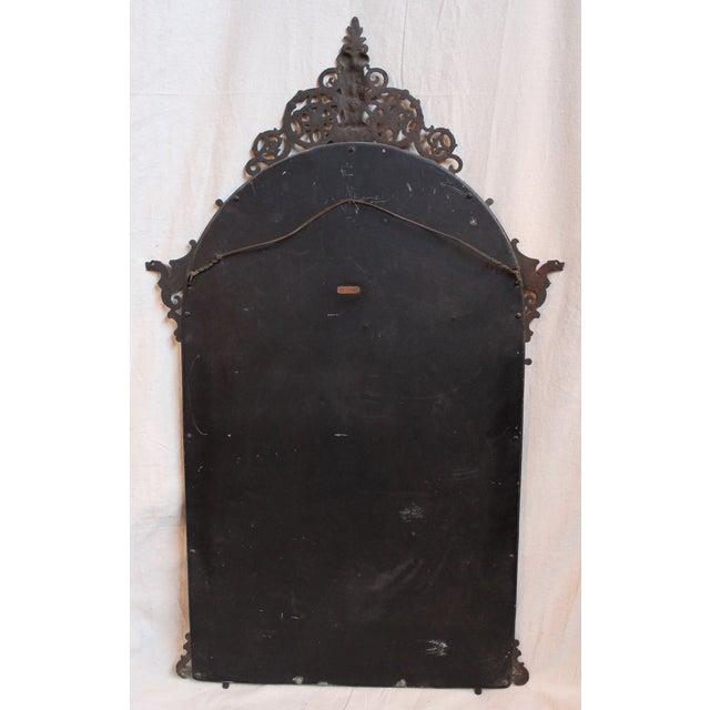 1920's Oscar Bach Neo-Gothic Mirror - Image 5 of 7