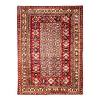 """New Traditional Hand Knotted Area Rug - 5'1"""" x 6'10"""""""