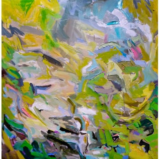 """""""Peak Falls"""" Abstract Painting by Trixie Pitts"""
