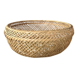 Medium Round Woven Basket