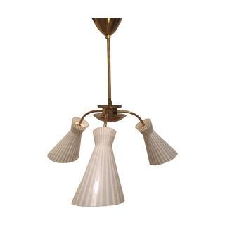 Art Deco Vintage Tripod Kalmar Light