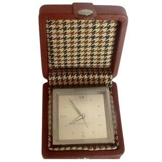 Cutter & Buck Travel Alarm Clock & Case