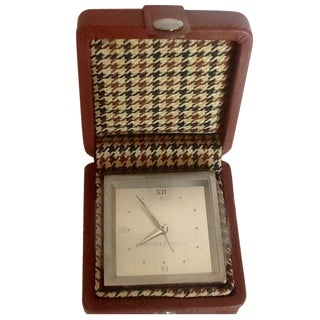 Cutter & Buck Travel Alarm Clock & Case