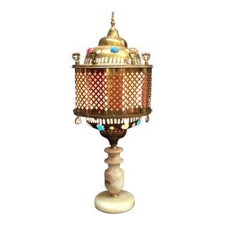 Vintage Moroccan Table Lamp