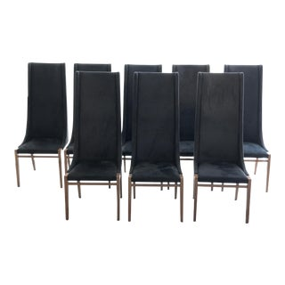 Constantini Pietro High Back Dining Chairs - Set of 8