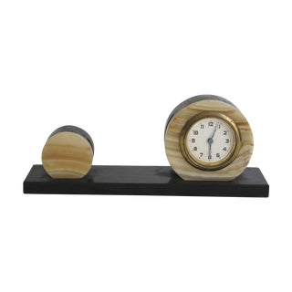 Onyx Desk Clock