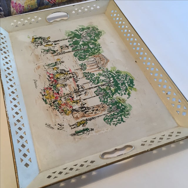 Image of Artist Painted Tray