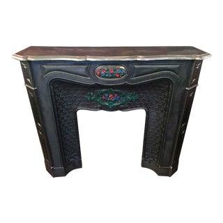 Cast Iron European Fireplace