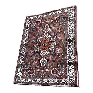 Vintage Turkish Handmade Rug - 5′2″ × 6′8″