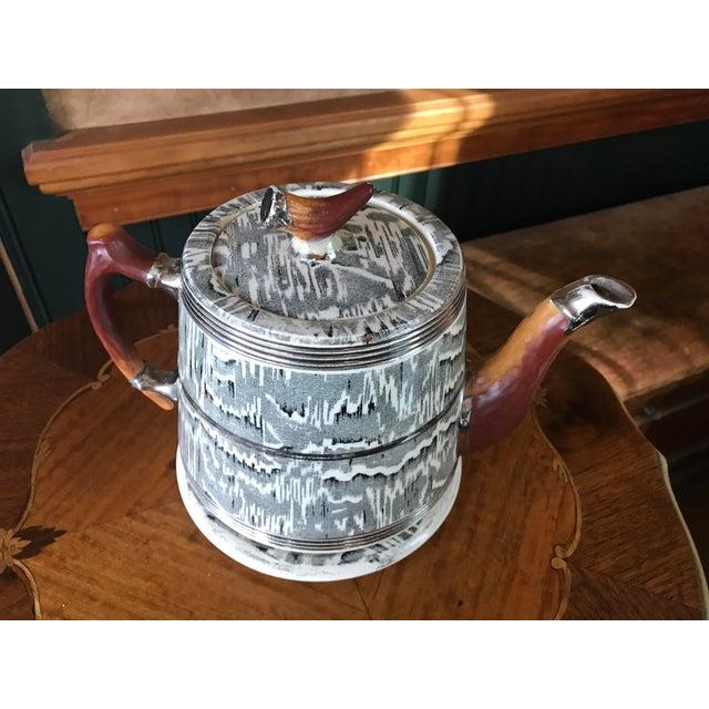 1930s Arthur Wood Silver Shield Teapot - Image 3 of 11