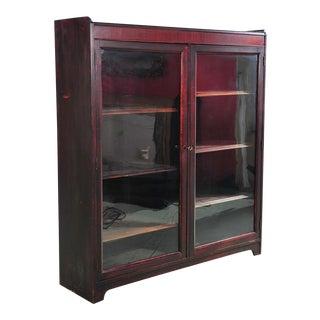 19th Century 2 Door Mahogany Bookcase