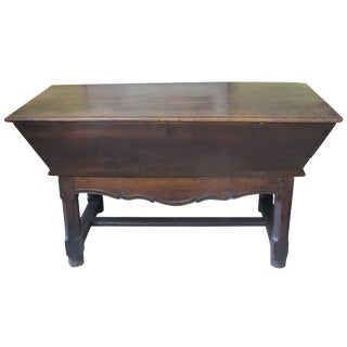 18th-C. French Bread Dough Box Table