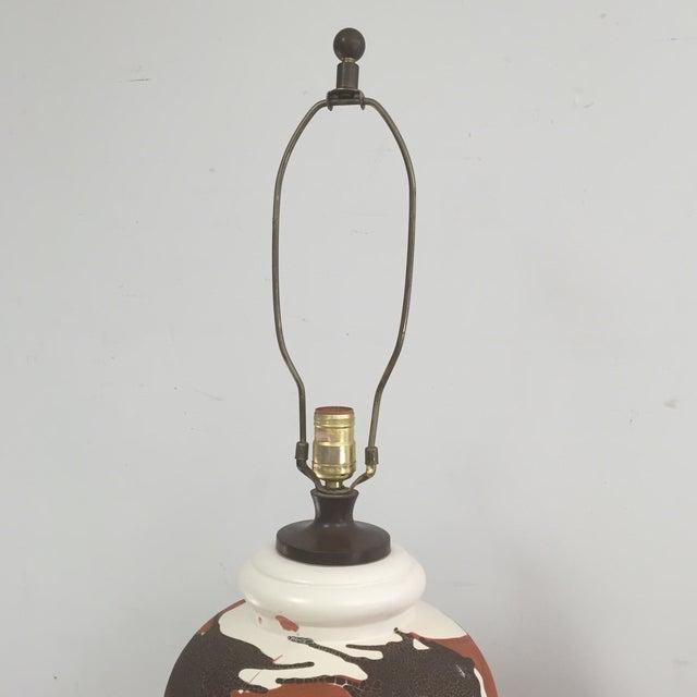Royal Haeger Drip Glaze Table Lamp - Image 6 of 10