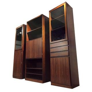 Vintage ScanFlex Rosewood Shelving Cabinets