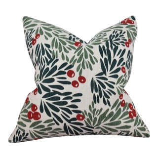 Mistletoe Throw Pillow